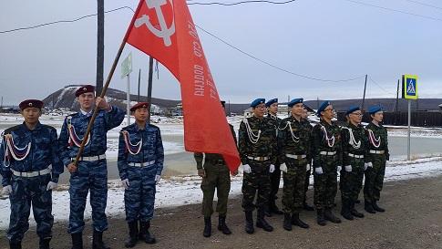 Символ великого подвига – Знамя Победы в Оймяконье