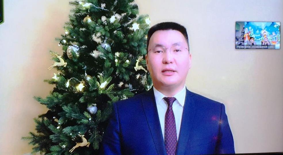 Новогодняя Ёлка Главы МО «Оймяконский улус (район)»